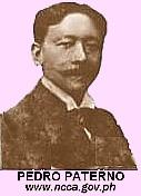 PEDRO PATERNO, 1858 - 1911
