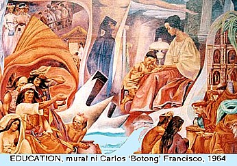 Carlos Botong Francisco Paintings